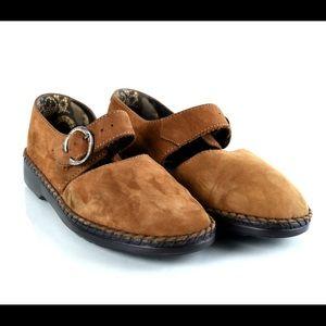 Josef Seibel Rosalie Air Massage Tan Suede Shoes